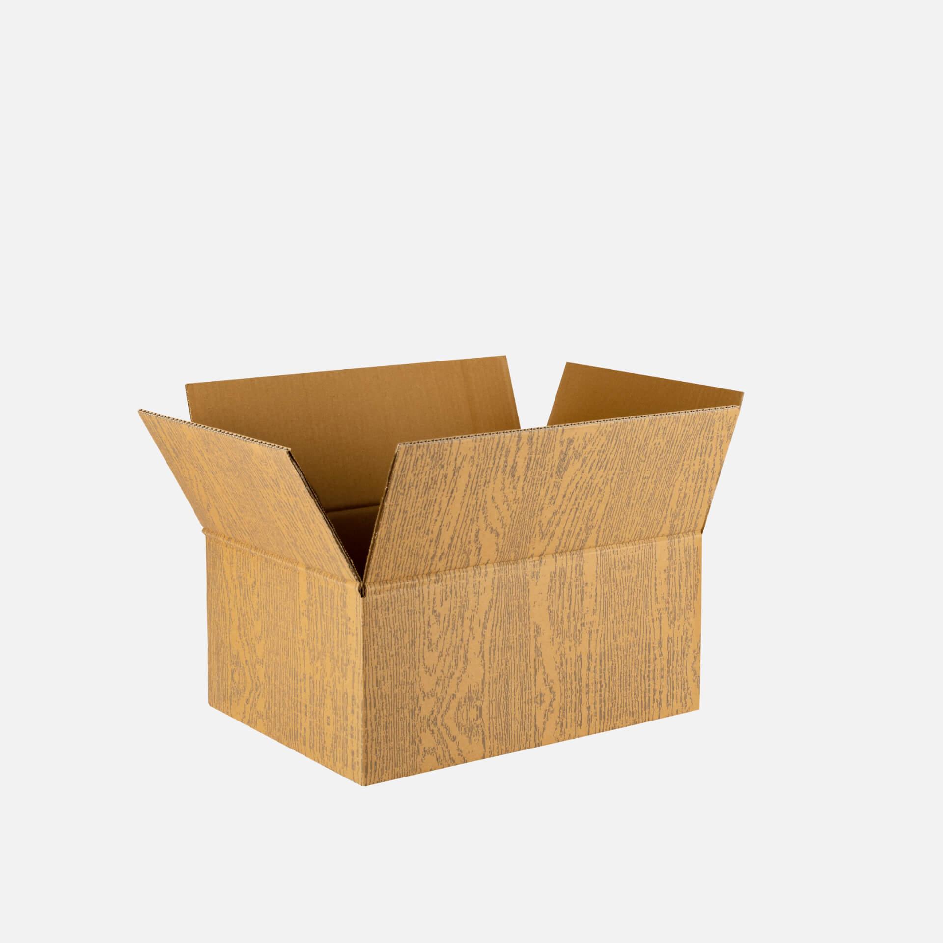 scatola americana con stampa 4 colori