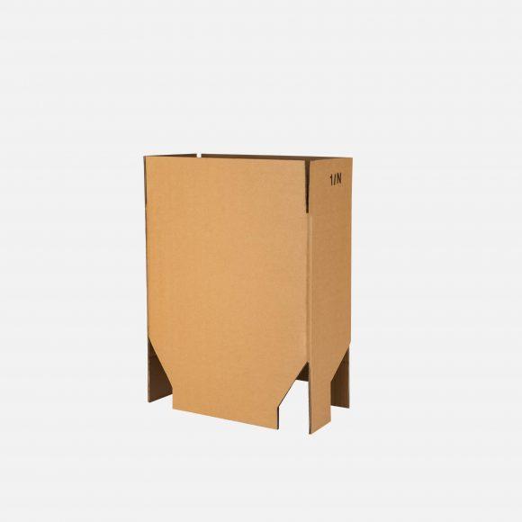scatola con fondo a scatto
